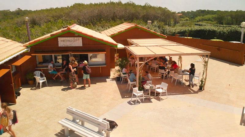 Projet de restaurant Métroloco à Tarnos en2019