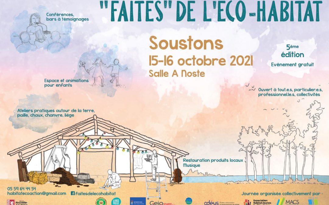 """""""Faites"""" de l'éco-habitat 2021"""